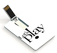 32GB Let's Play Design Card USB Flash Drive