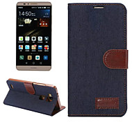 PU Leather Slim Stand Case Cover Wallet Case Classic for Huawei Ascend Mate 7
