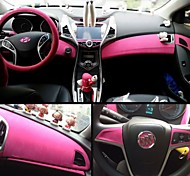 1,35 * 1m 8 kleuren fluwelen stof fluweel film suède film auto sticker auto-interieur sticker auto lichaamsversiering sticker