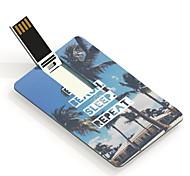 64GB comer playa sueño tarjeta diseño unidad flash usb de repetición