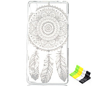 For Sony Case / Xperia Z3 Transparent Case Back Cover Case Dream Catcher Soft TPU for SonySony Xperia Z3 / Sony Xperia Z2 / Sony Xperia