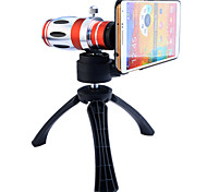 Telescope 12.5X Zoom Telephoto Manual Focus Long Focal Camera Lens with Back Case and Tripod for Samsung Galaxy Note 3
