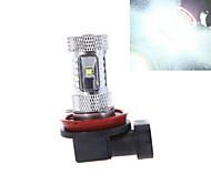 1 Stück ding yao Dekorativ Lichtdekoration H11 30 W 1200 LM 6000-6500 K 6 High Power LED Kühles Weiß DC 12/DC 24 V