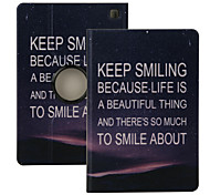 "Elonbo® Keep Smiling 360° Rotating PU Leather Full Body Protector Case Cover For Amazon Kindle Fire HDX 7""2013 Gen."