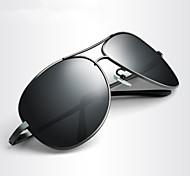 Gafas de Sol hombres's Moda / Polarizada Aviador Gafas de Sol Completo llanta