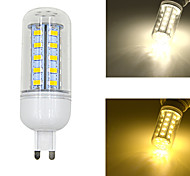 JMT-G9/GU10/B22/E14 5W 550lm 36x5730SMD LED Warm/Cool White Light Corn Bulb (AC 220-240V)