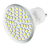 3W GU10 LED Spot Lampen 1 SMD 3528 570 lm Warmes Weiß / Natürliches Weiß AC 220-240 V 1 Stück