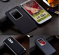 BIG D Quick Window View Flip Full Body Case for LG G2(Assorted Color)