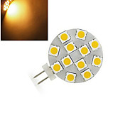 G4 Luces LED de Doble Pin 12 SMD 5050 200 lm Blanco Cálido / Blanco Fresco DC 12 V 1 pieza