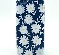 branco padrão de cor caixa do telefone de material TPU para iphone 5c