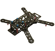 80%Carbon Fiber Mini 250 PRO FPV Quadcopter Frame Mini H Quad Frame red