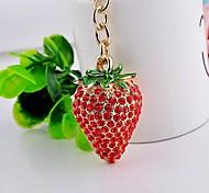 Set Auger Strawberry Key Chain