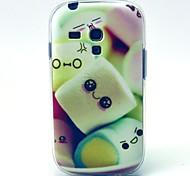 Zuckerwatte-Muster weiche Tasche für Samsung-Galaxie S3 i8190 Mini