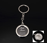 Personalized Gift  Photo Keychain Stainless Steel Lovers