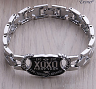 Euner® 2015 New Arrival Alloy Bracelet Wholesale Exo Same Design Bracelets For Men