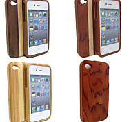 Handmade Natural Wood Wooden Hard Case Cover for iPhone 5/5S