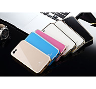 Luphie Aluminium Metal Bumper with Acylic Back Cover for iPhone 5C (Assorted Colors)