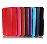 Triple modello pieghevole di alta qualità da 7 pollici caso pu leathe per HP flusso tablet 7 3g (colori assortiti)