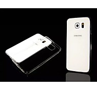 Special Design Solid Color Transparent ultra-thin0.3mm TPU for Samsung Galaxy S6