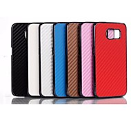 Elegant 2015 New Products Carbon Fiber for Samsung Galaxy S6(Assorted Color)
