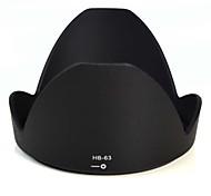 mengs®-63 hb pétalo capilla de lente forma para Nikkor AF-s nikon 24-85mm f / 3.5-4.5g ed vr