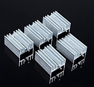 disipador de calor 21 * 15 * 10 mm (con aguja) 5pcs