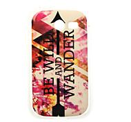 farbenfrohes Gemälde tpu Fall für Samsung-Galaxie-Tasche 2 G110