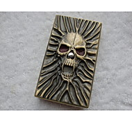 Exquisite Large Skull Upscale Electronic Sensor Windproof Lighter (Gift Boxed)