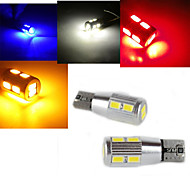 1 Stück ding yao Dekorativ Lichtdekoration T10 3.5 W 300 LM K 10 SMD 5730 Kühles Weiß/Rot/Blau/Gelb DC 12 V