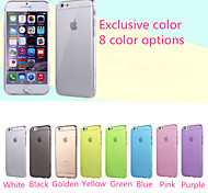 Ultra-thin Waterproof Transparent TPU Phone Case for  iphone 5 iphone 5S(Assorted Colors)
