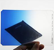 Viltrox Filtro cuadrado 100 * 150 mm 100 mm de color azul de la pendiente para el filtro de la lente de la cámara DV