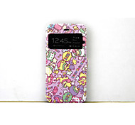 Graphic/Special Design TPU/PU Leather Case with Kickstand/Full Body Case for iPhone 6/6S