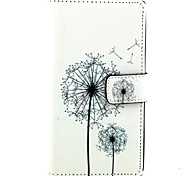 For Nokia Case Wallet / Card Holder / with Stand Case Full Body Case Dandelion Hard PU Leather NokiaNokia Lumia 830 / Nokia Lumia 640 /