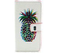 For Wiko Case Card Holder Case Full Body Case Fruit Hard PU Leather Wiko Wiko Rainbow
