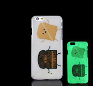 Hamburger Pattern Glow in the Dark Case for iPhone 6 Cover