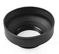 mengs® 58mm universelle 3 étages pliable grand angle capot téléobjectif standard pour appareil photo Canon, Nikon, Sony Olympus