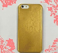 cuir PU or iml pu crovered étui rigide pour iPhone 6