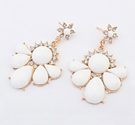 Cute / Casual Alloy / Resin Drop Earrings