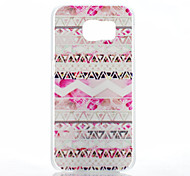 Pink Folk Style Pattern PC Hard Back Cover Case for Samsung Galaxy S6
