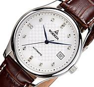 Suíça woerda® homens de negócios xadrez padrão Checa pedras Itália Japão cinto movimento mecânico relógios de luxo 2007a-2