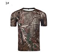 Al aire libre Unisex Camiseta Camping y senderismo / Caza / FitnessTranspirable / Resistente a los UV / Permeabilidad a la humeda /