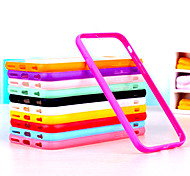 BIG D Clear  Acrylic Back Case for iPhone 6(Assorted Color)