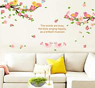 Adesivi da parete - di Plastica - Rosa - Innovativo