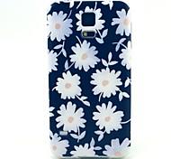 fleurs blanches TPU affaire doux pour les Samsung Galaxy S i9600