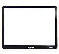NiceFoto Proof Glass Protection Screen for Nikon D3200 Ultrathin HD Screen Protecting Film Electrostatic Adsorption