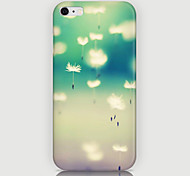 Dandelion Pattern Back Case for iPhone 6