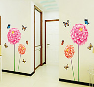 Wall Stickers Wall Decals, Style Colorful Butterfly PVC Wall Stickers
