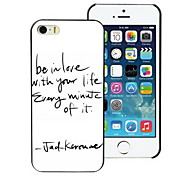 Believe With Your Design PC Hard Case for iPhone I4
