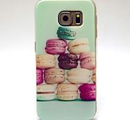 Hamburger Pattern TPU Soft Case for Samsung Galaxy S6