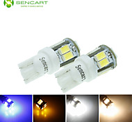 T10 W5W 5W 11x5630SMD 550LM Blue/Warm White/Yellow/Cool White for Car Side Lamp (DC12-16V)